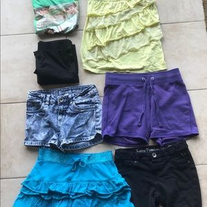 7 pc lot of Justice Girl Size 12
